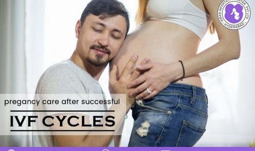 Pregnancy care after successful IVF cycles